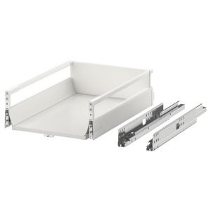EXCEPTIONELL средний ящик с нажимным механизмом белый 40x60 см