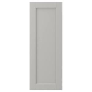ЛЕРХЮТТАН Дверь, светло-серый, 30x80 см