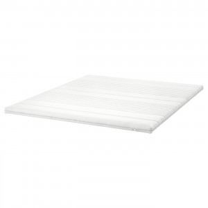 ТУСОЙ Тонкий матрас, белый, 160x200 см