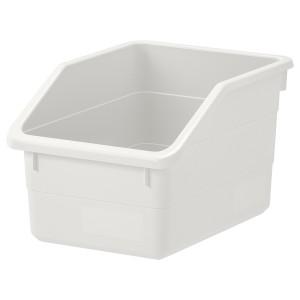 SOCKERBIT контейнер белый 19x15 см
