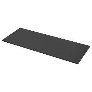 EKBACKEN столешница матовая поверхность антрацит/ламинат 63.5x246 см