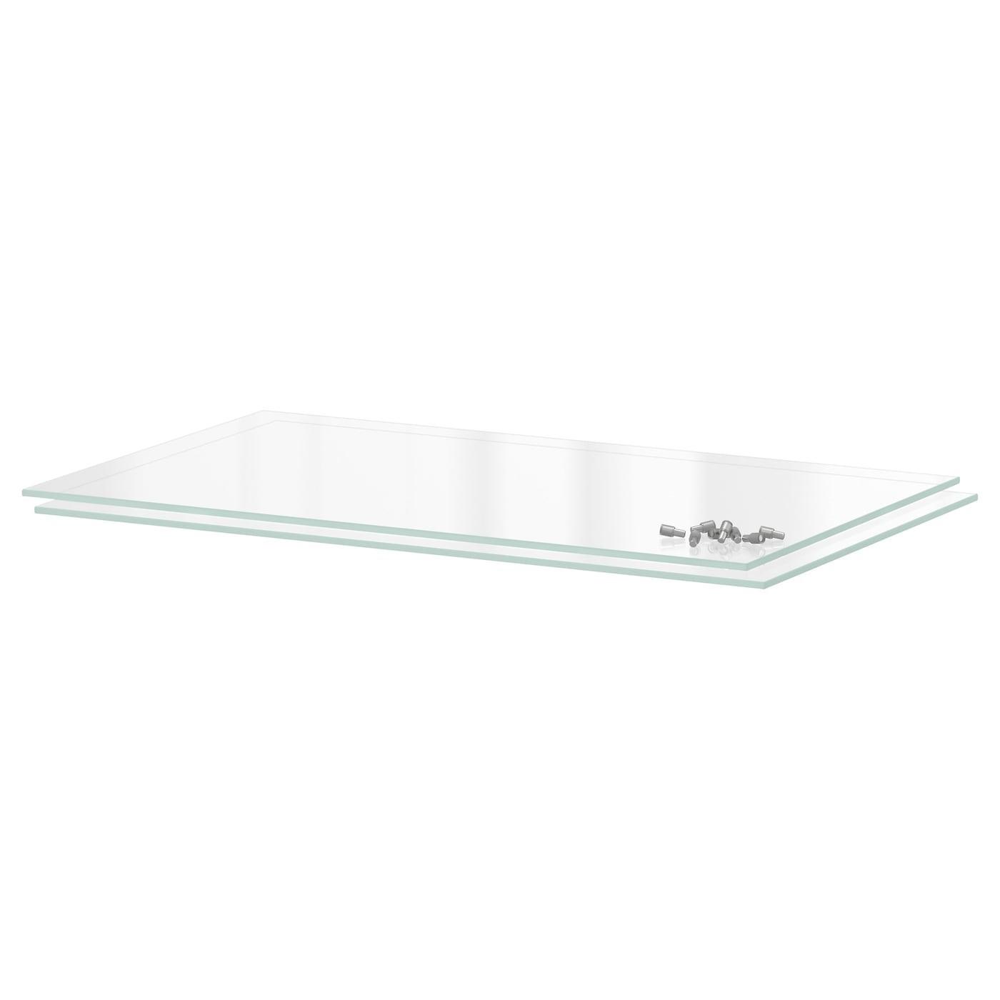 IKEA UTRUSTA полка стекло 56.3x34.6 см 90205605
