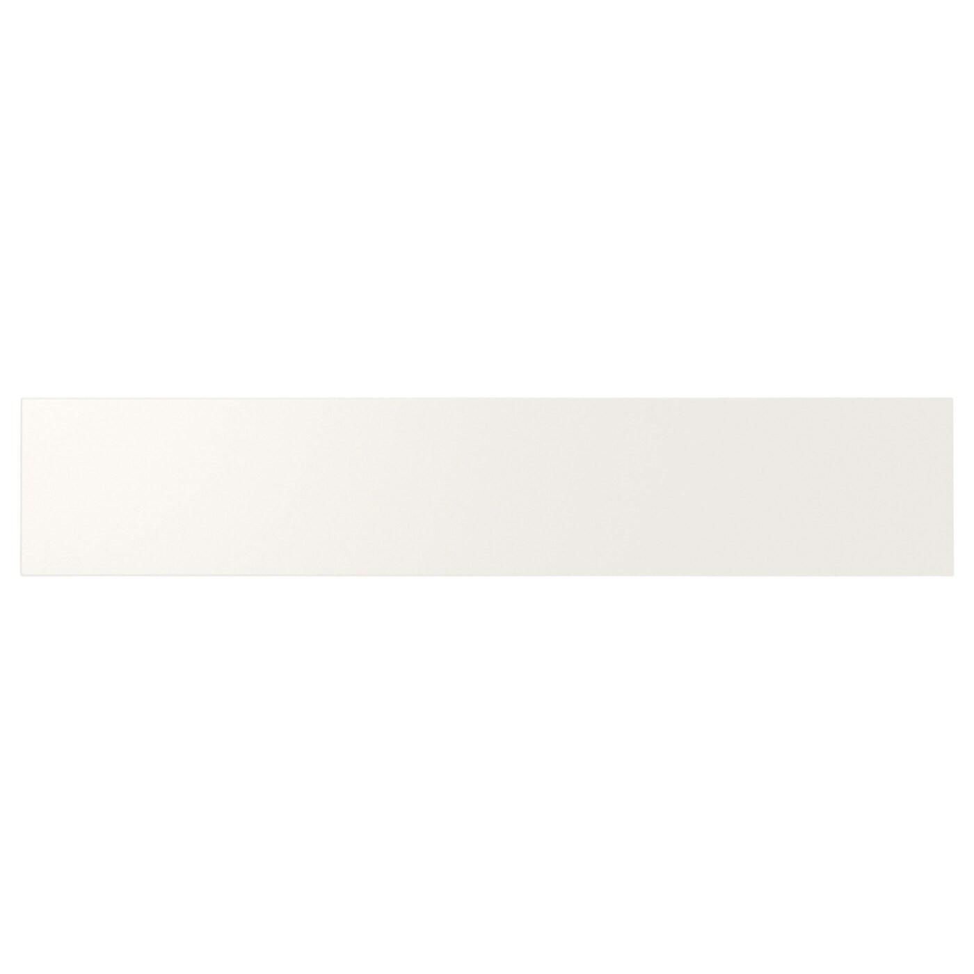 IKEA UTRUSTA фронтальная панель ящика, средняя белый 75.5x14.5 см 402.214.53