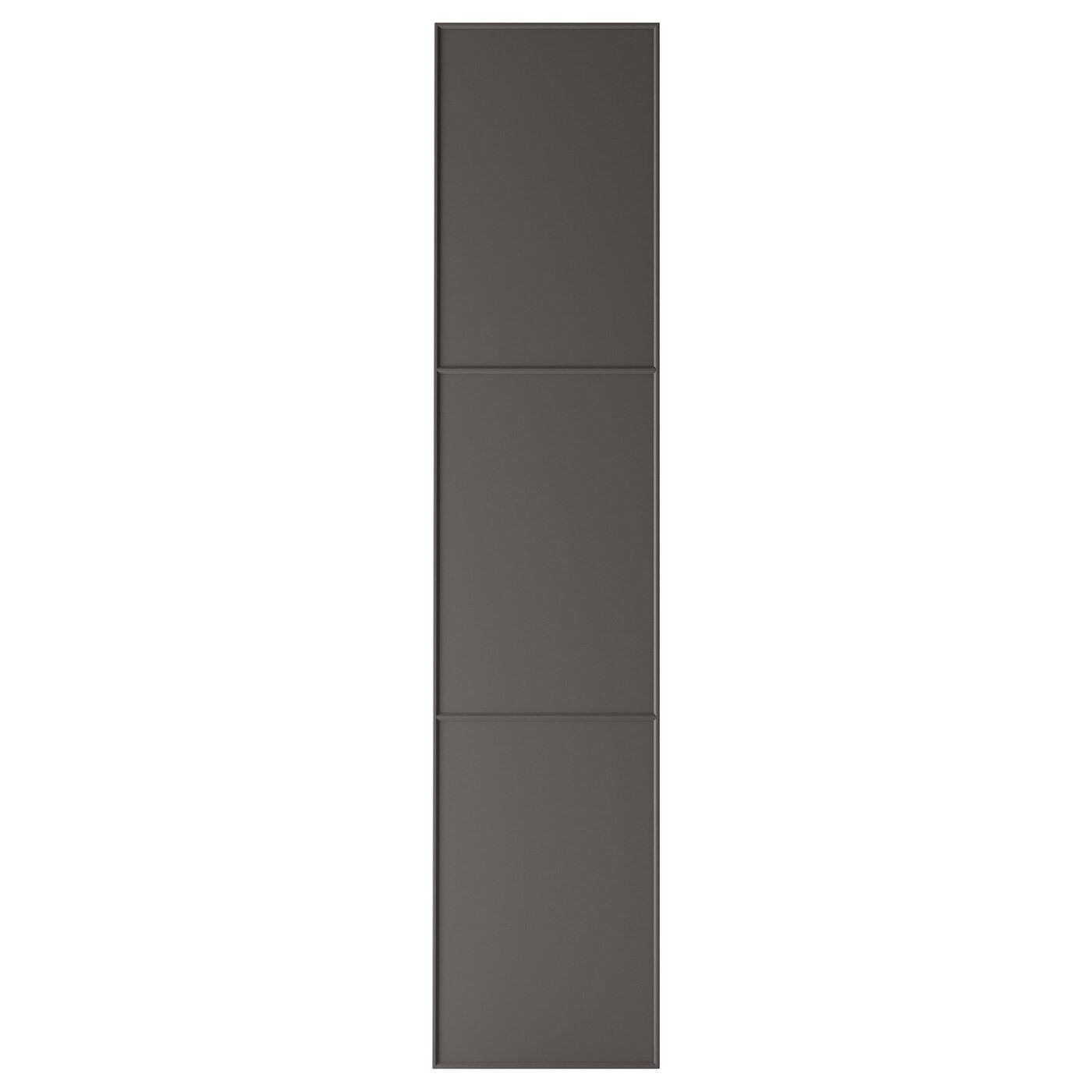 IKEA MERÅKER Дверца с петлями, темно-серый, 50x229 см 791.228.24