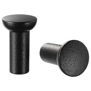 NYDALA ручка мебельная черный 2.5x Ø1.6 см