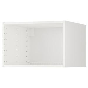 МЕТОД Каркас верхн шкафа для холод/морозил, белый, 60x60x40 см