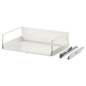 ЭКСЕПТИОНЕЛЛЬ Высокий ящик с нажимным механизмом, белый, 80x60 см