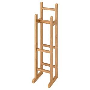 RÅGRUND держатель для туалетной бумаги бамбук 15x16x60 см