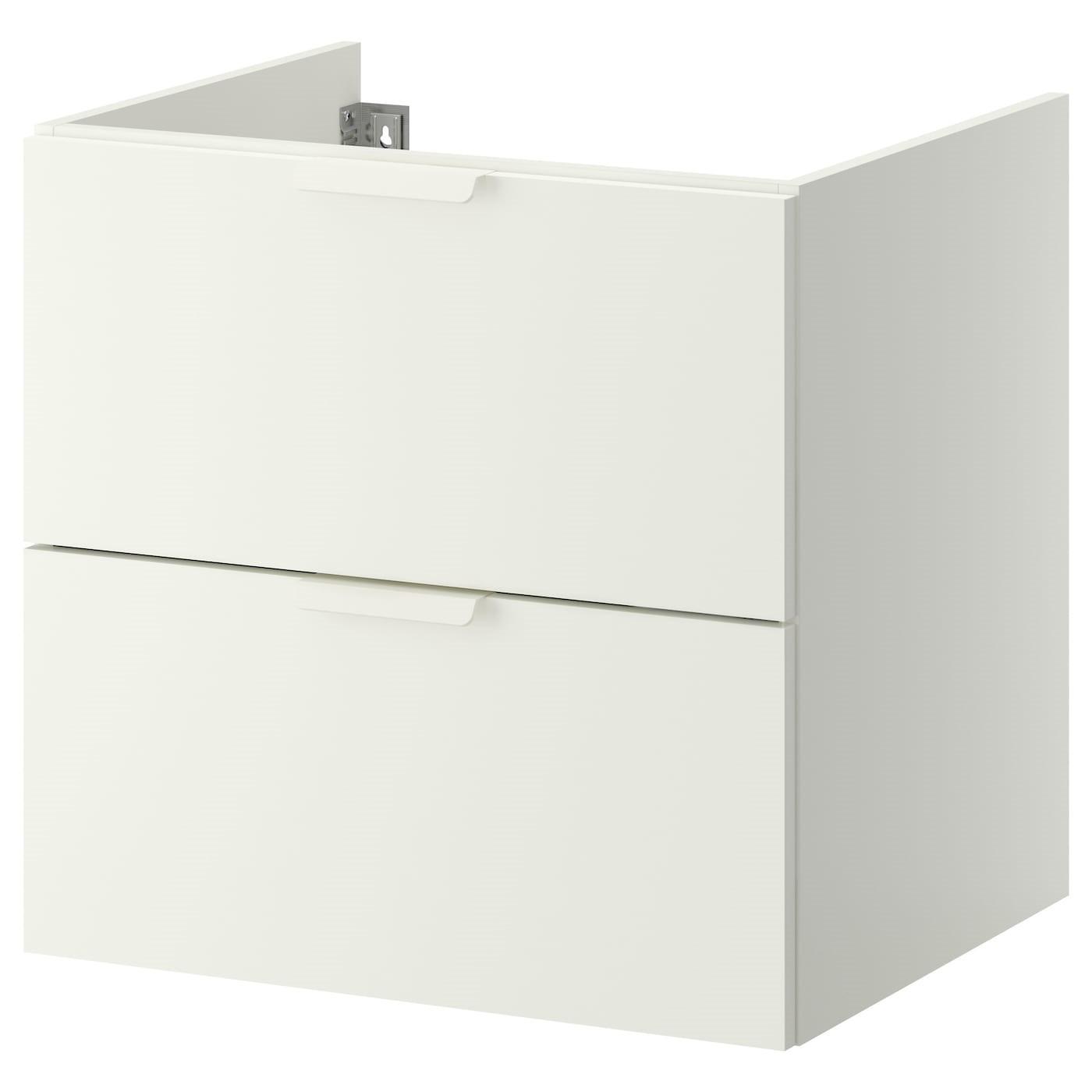 IKEA GODMORGON шкаф для раковины с 2 ящ белый 60x47x58 см 402.811.02