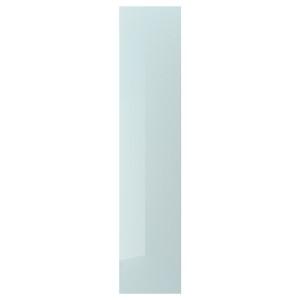 FARDAL дверь глянцевый серо-синий светлый 50x229 см