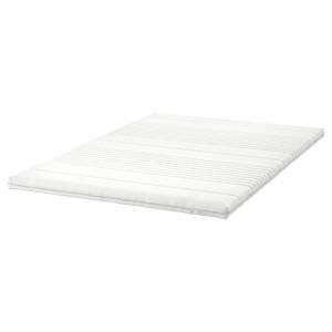 ТУСОЙ Тонкий матрас, белый, 140x200 см