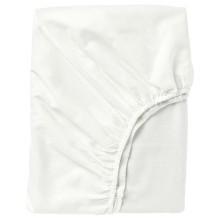IKEA ФЭРГМОРА Простыня натяжная, белый, 140x200 см 903.477.23-5
