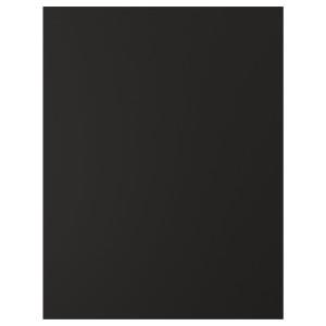 КУНГСБАККА Накладная панель, антрацит, 62x80 см