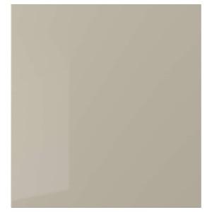 СЕЛЬСВИКЕН Дверь, глянцевый бежевый, 60x64 см