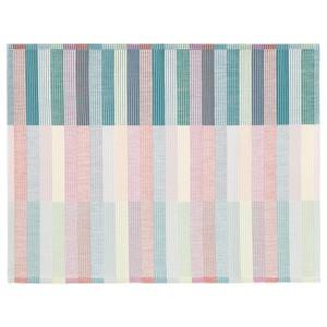 MITTBIT Подкладка под приборы, розовый бирюзовый, светло-зеленый, 45x35 см