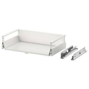 МАКСИМЕРА Выдвижной ящик, средний, белый, 60x37 см