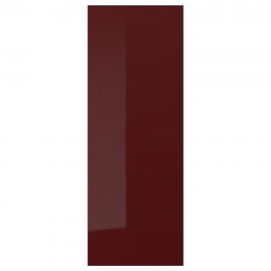 KALLARP дверь глянцевый темный красно-коричневый 30 x 80 см