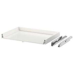 МАКСИМЕРА Выдвижной ящик, низкий, белый, 80x60 см