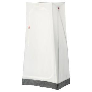 VUKU Шкаф платяной, белый, 74x51x149 см