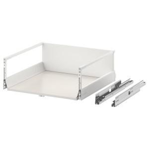 EXCEPTIONELL высокий ящик с нажимным механизмом белый 60x60 см