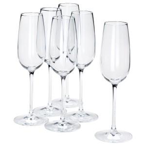 STORSINT Бокал для шампанского, прозрачное стекло, 22 сл