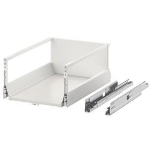 EXCEPTIONELL высокий ящик с нажимным механизмом белый 40 x 60 см
