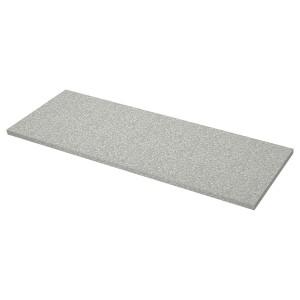 SÄLJAN столешница светло-серый под минерал/ламинат 63.5x246 см