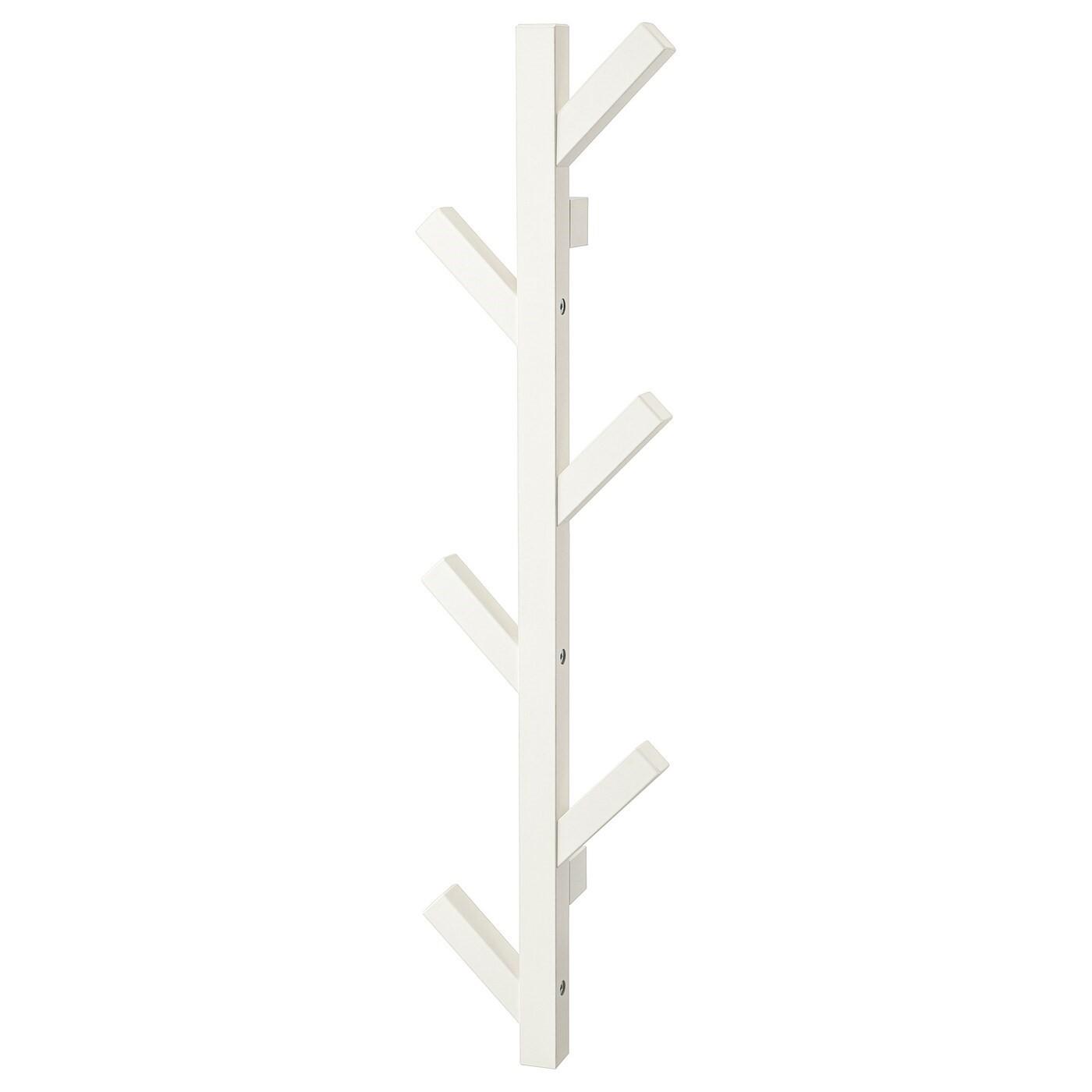 IKEA TJUSIG вешалка белый 19x7x78 см 602.917.08