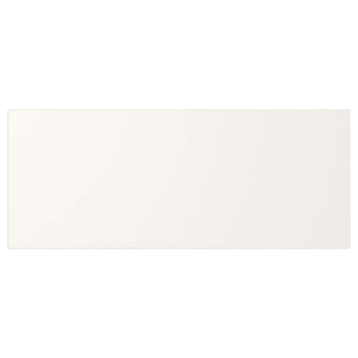 IKEA UTRUSTA фронтальная панель ящика, средняя белый 35.5x14.5 см 602.214.52