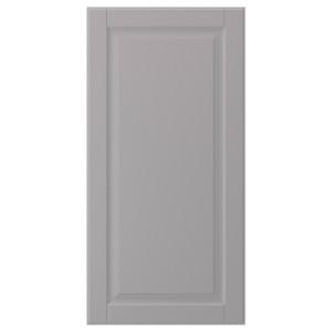 БУДБИН Дверь, серый, 40x80 см