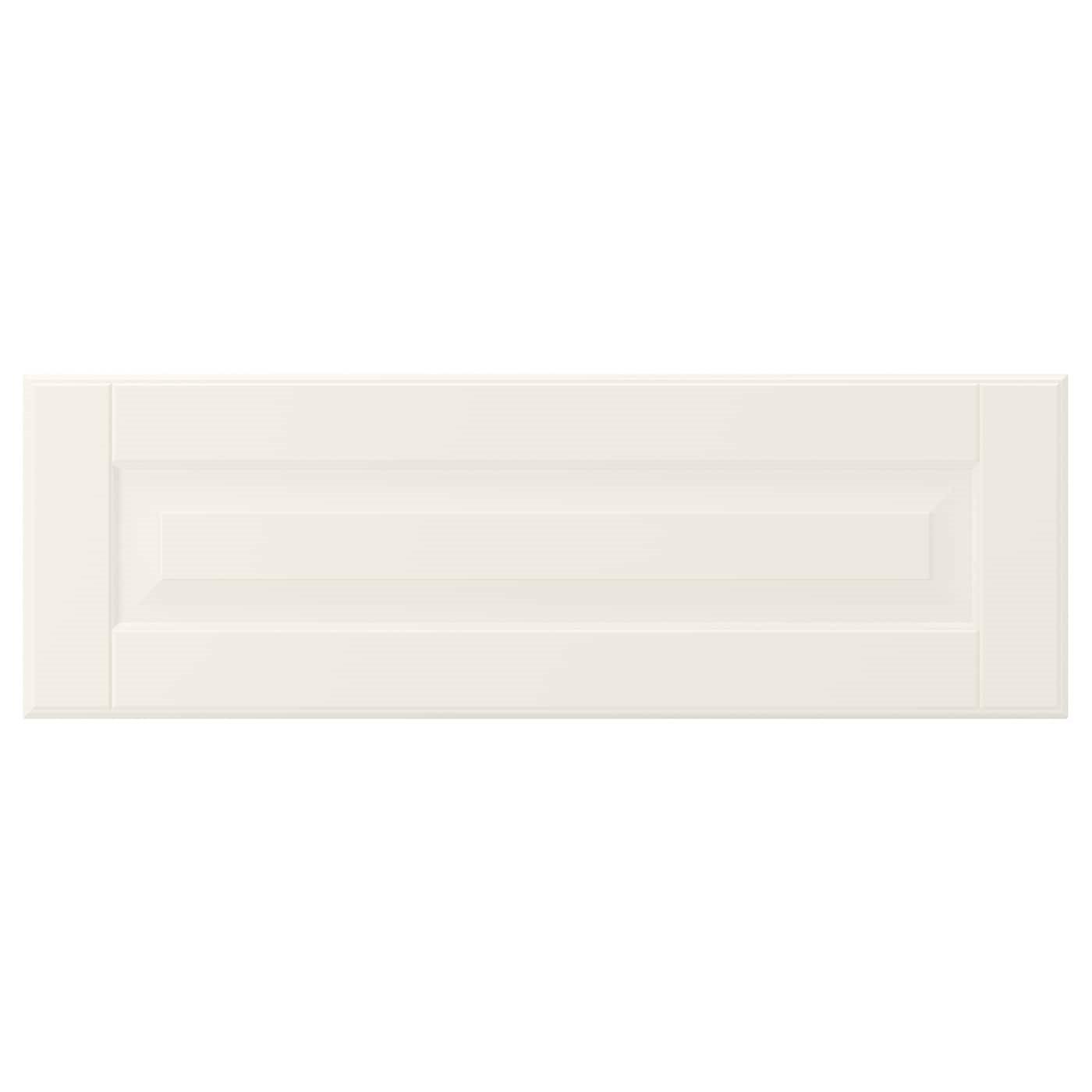 IKEA BODBYN БУДБИН Фронтальная панель ящика, белый с оттенком, 60x20 см 80208261