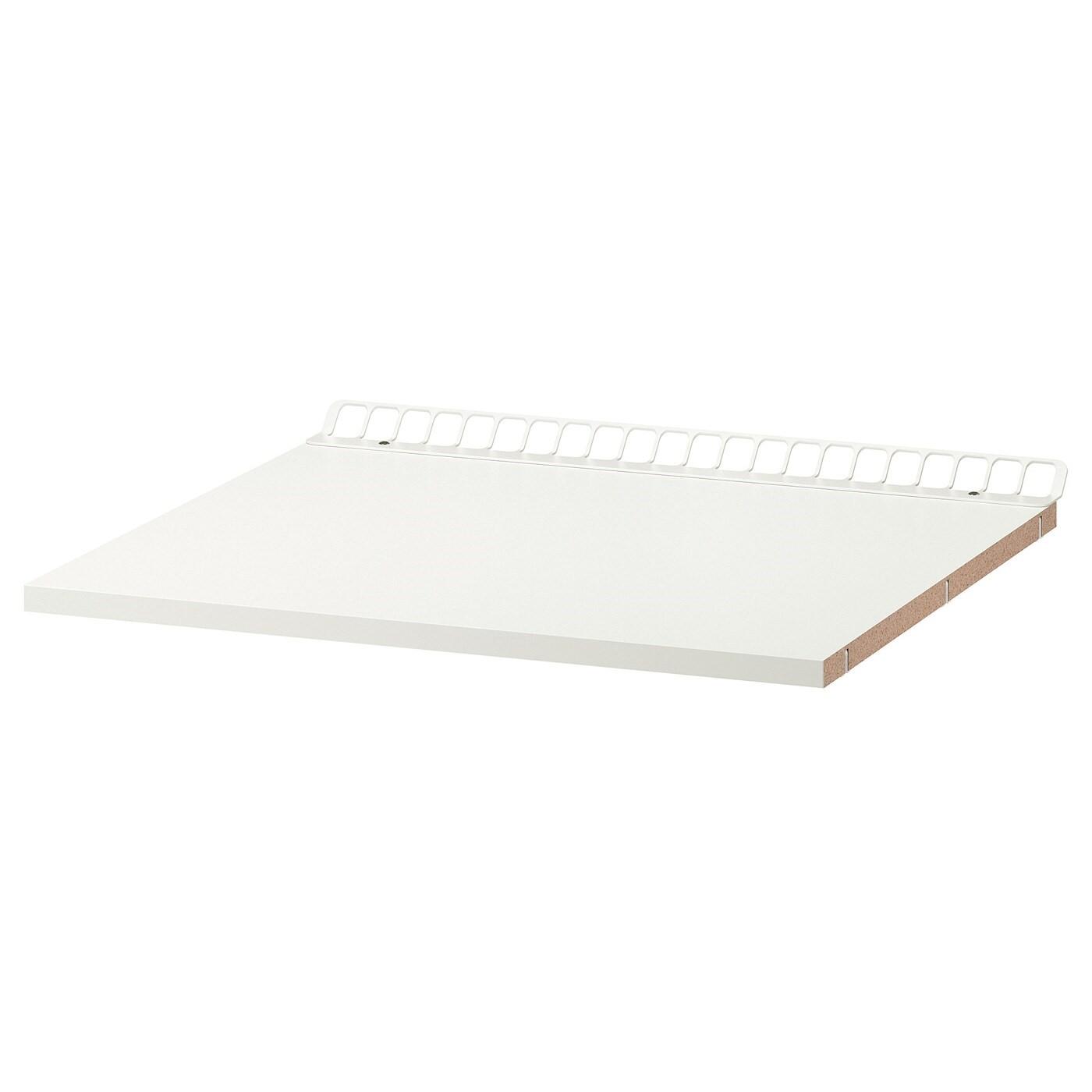 IKEA УТРУСТА Полка с вентиляцией, белый, 60x60 см 902.135.73