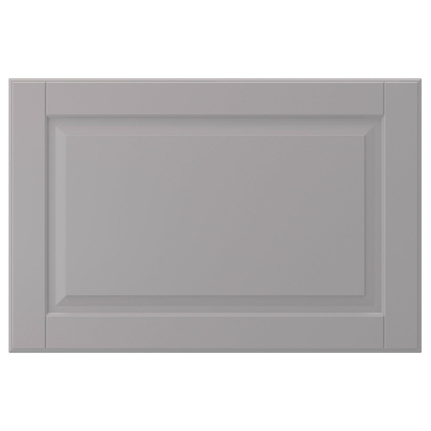 IKEA БУДБИН Фронтальная панель ящика, серый, 60x40 см 802.210.50