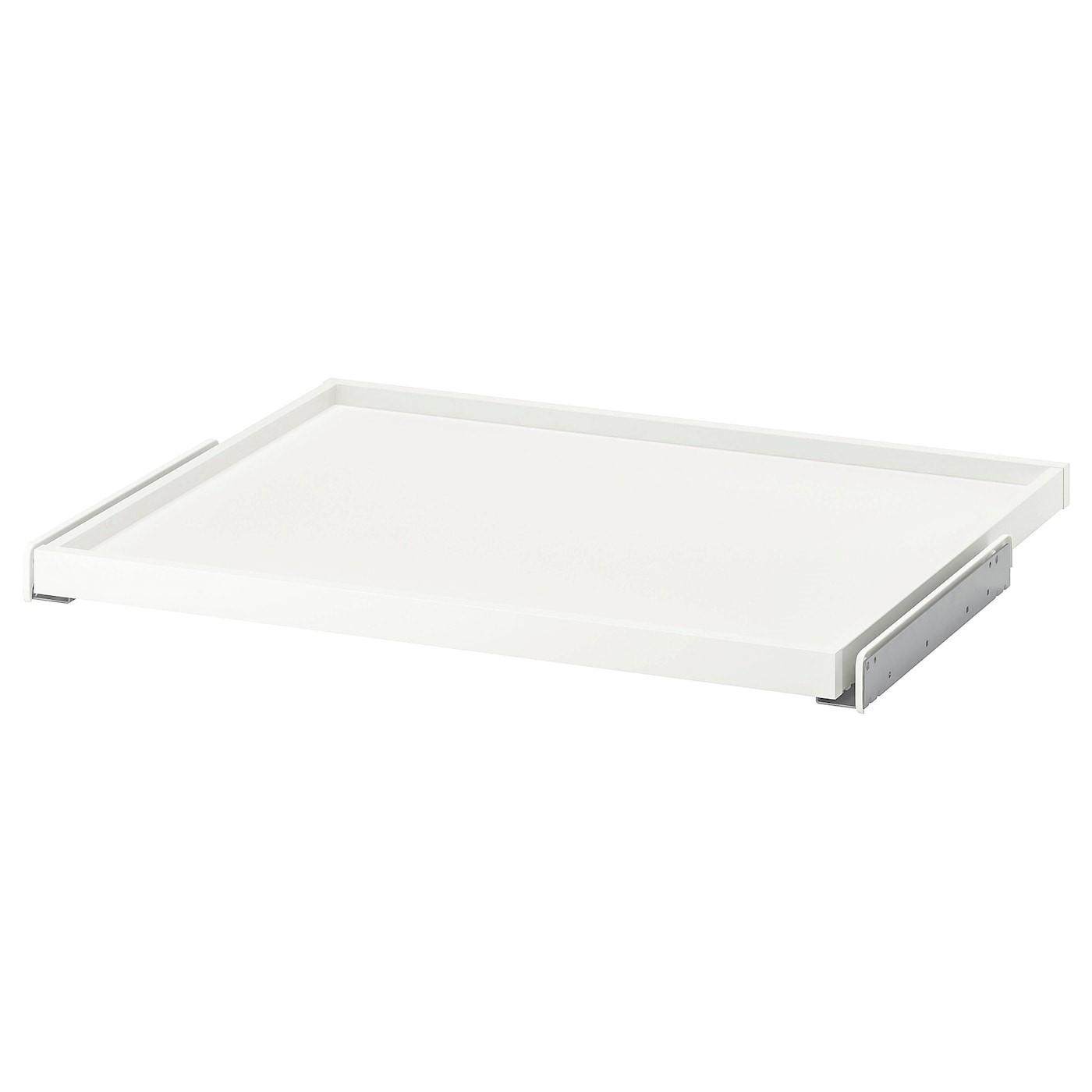 IKEA KOMPLEMENT выдвижная полка белый 67.6x56.3x3.5 см 302.463.74