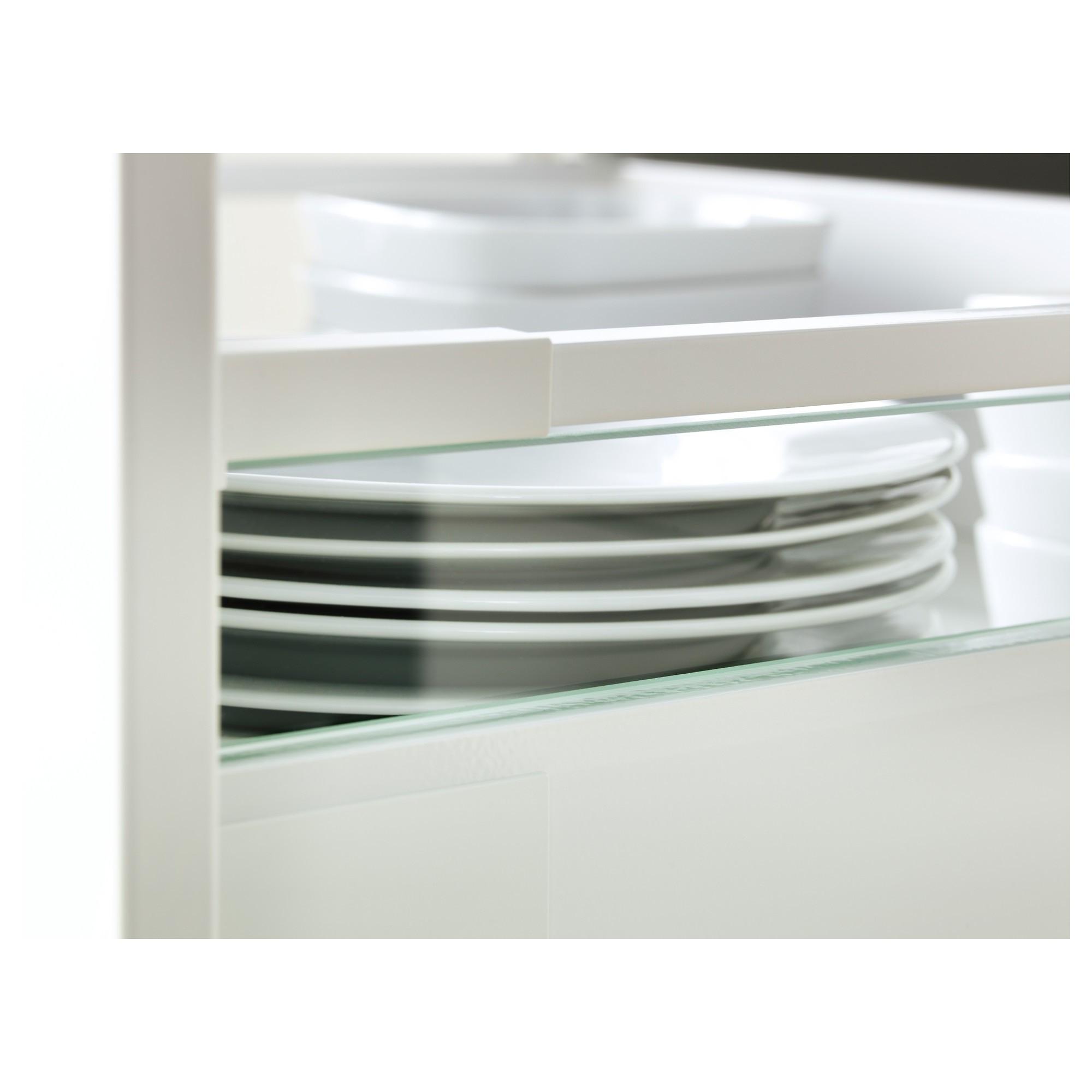 IKEA MAXIMERA дополнит боковина д/ящика, средняя стекло 49x4.7 см 30238859