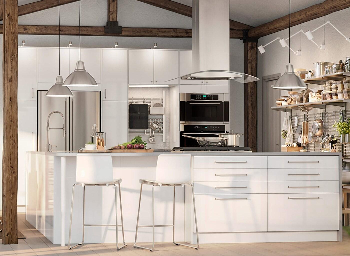 Дизайн кухонь IKEA из Европы на homezone.com.ua