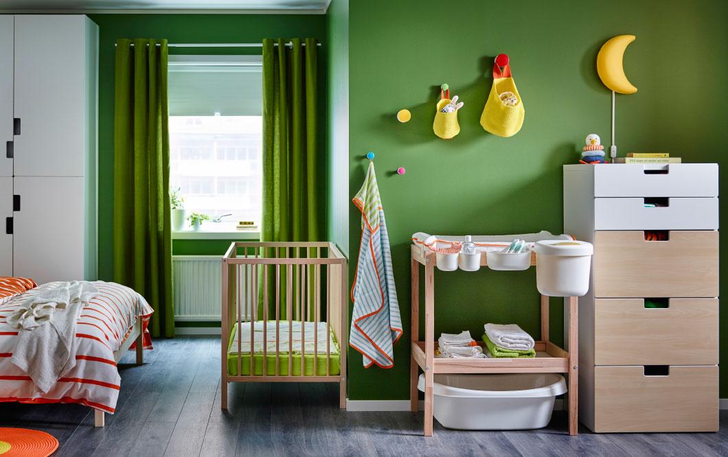 Интерьер детской IKEA - максимум комфорта, минимум хаоса